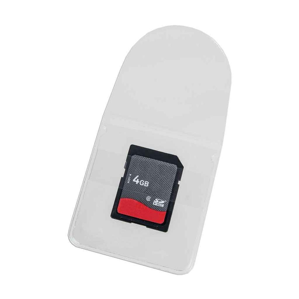 Selbstklebe-Taschen - für USB-Sticks / Speicherkarten