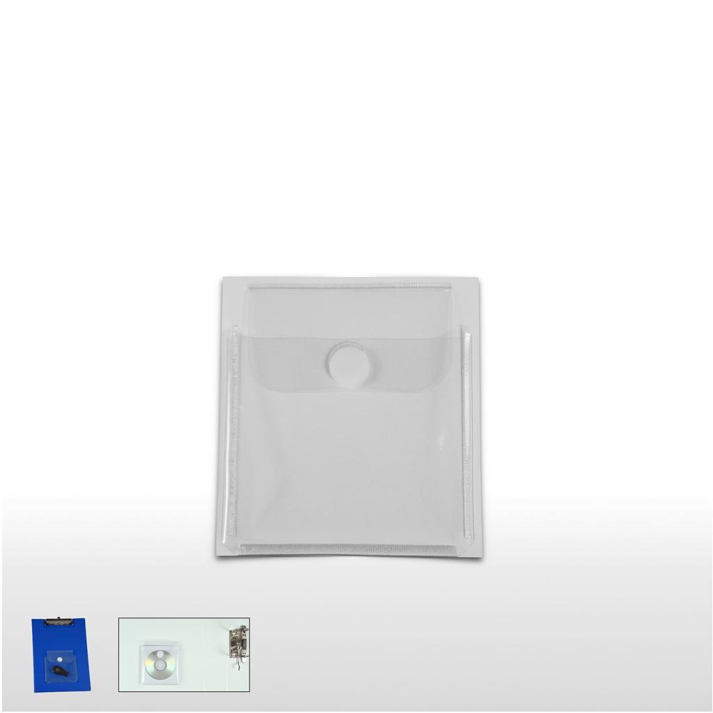 Aufbewahrungs-Tasche - selbstklebend -  mit Klettverschluss