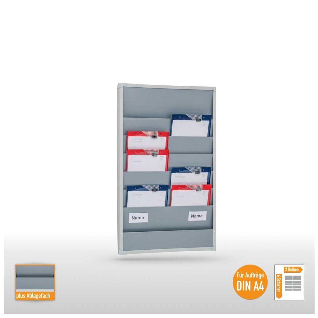 Plantafel - bis zu 12 DIN A4 Aufträge und Belege