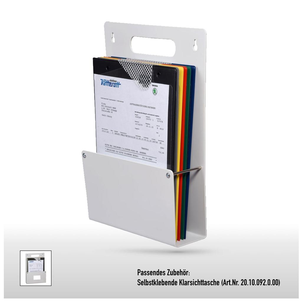 Auftragstaschen-Sammler - DIN A4 - bis zu sieben Auftragstaschen