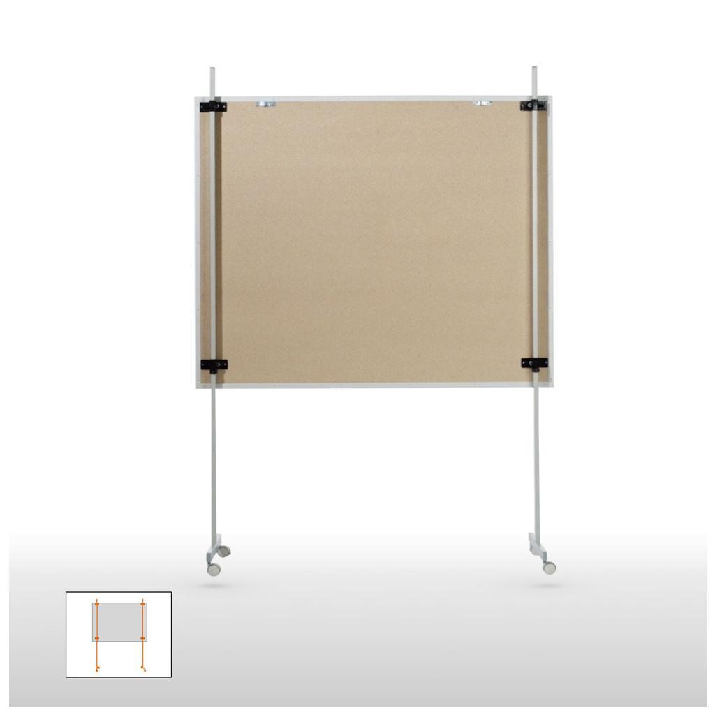 Universal-Stativ - fahrbar - passend für alle Werkstattplaner
