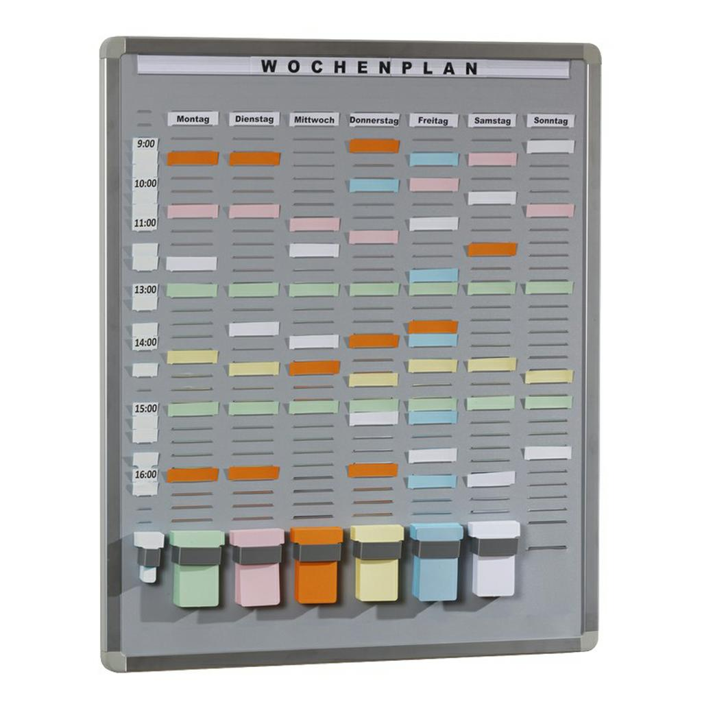 T-Card Systemtafel - 35 Einsteckfächern + Zubehör - 3 Größen