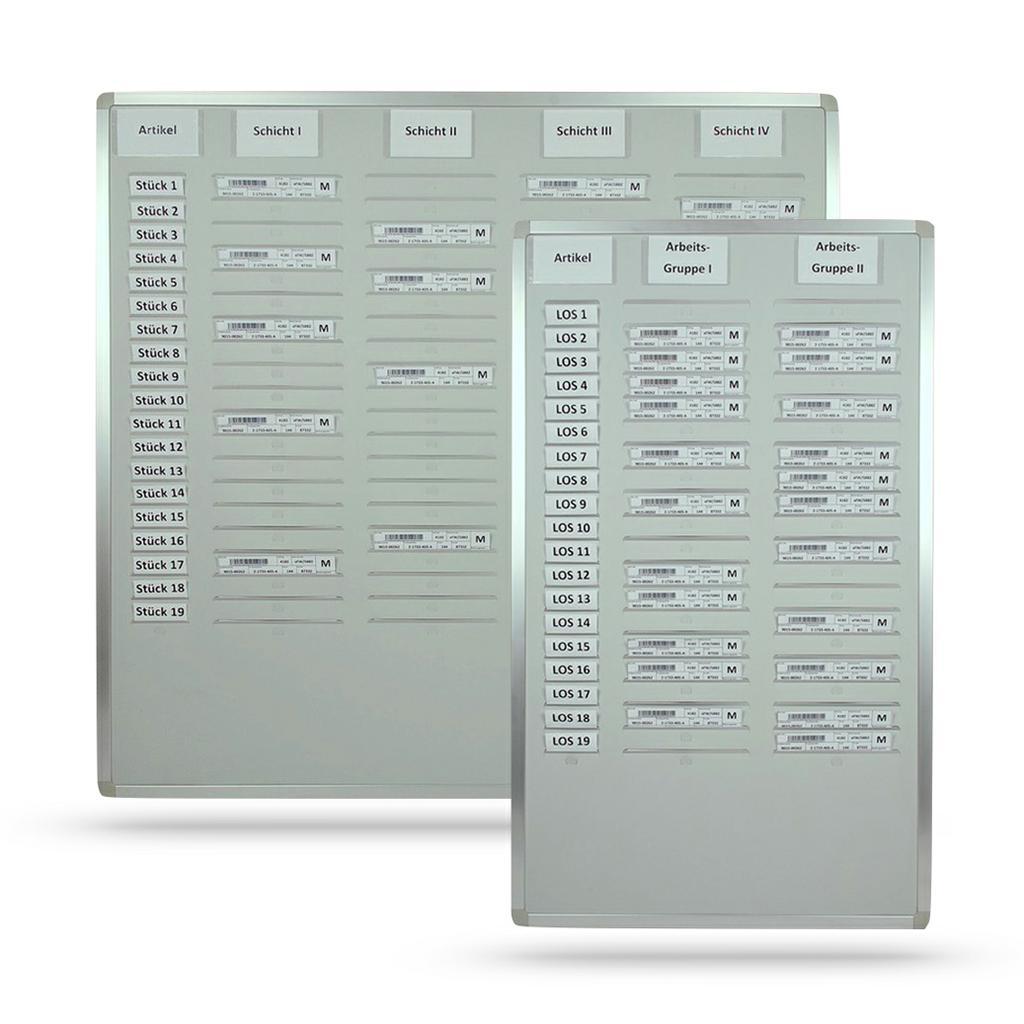 Einsteck-/Kartentafel für DIN A5-Hochformat Belege