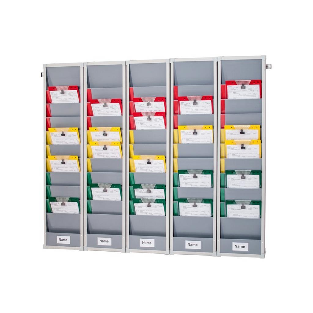 Flexo-Board Tafelsystem mit 5 Tafelsegmenten, für DIN A4 Aufträge