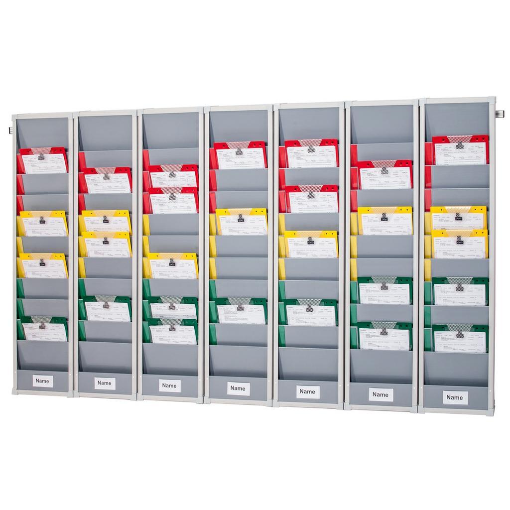 Flexo-Board Tafelsystem mit 7 Tafelsegmenten, für DIN A4 Aufträge
