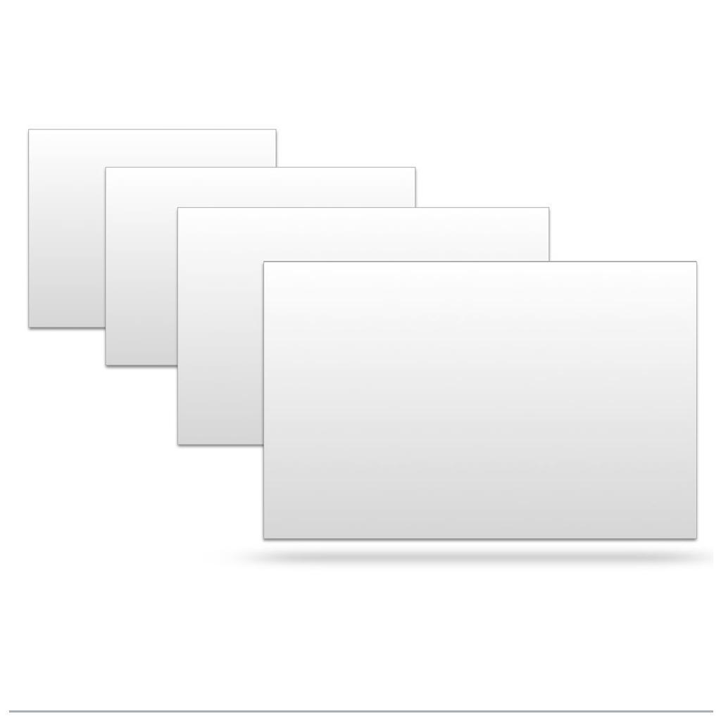 Schutzhüllen für Einsteckkarten - System Planrecord