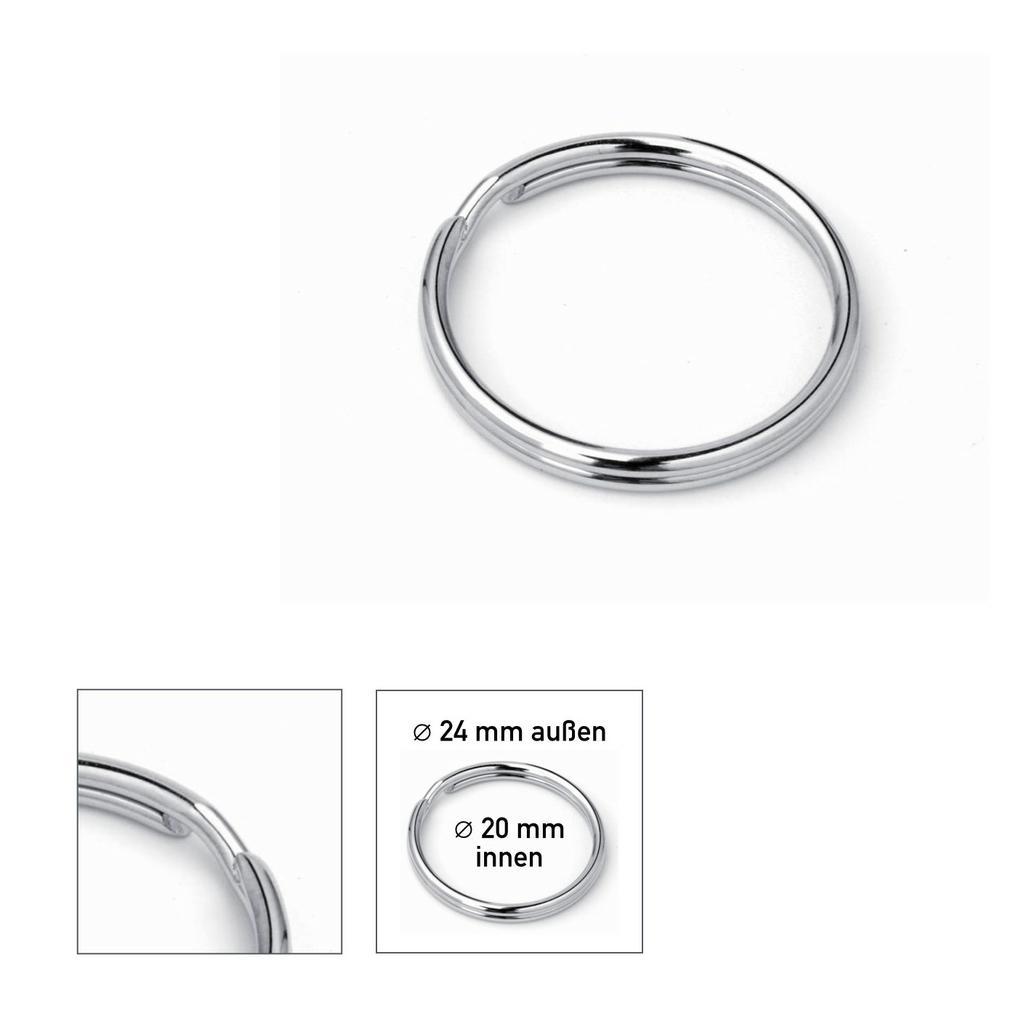 Schlüsselringe ø 24 mm