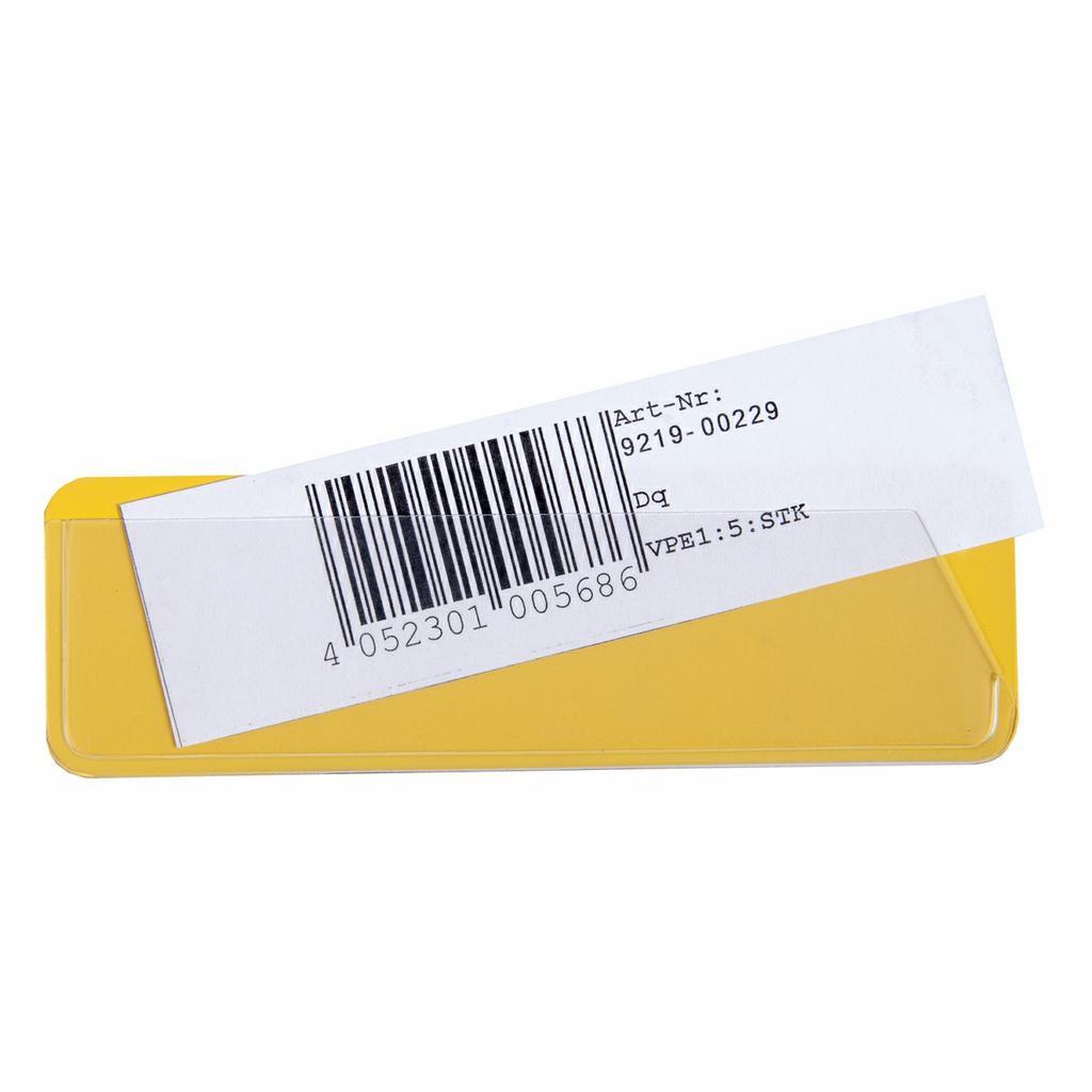 Etikettenträger zur Regalkennzeichnung