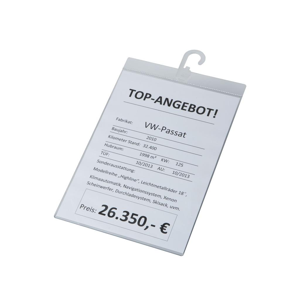 Info-Preisblatthalter - DIN A4 - Hochformat