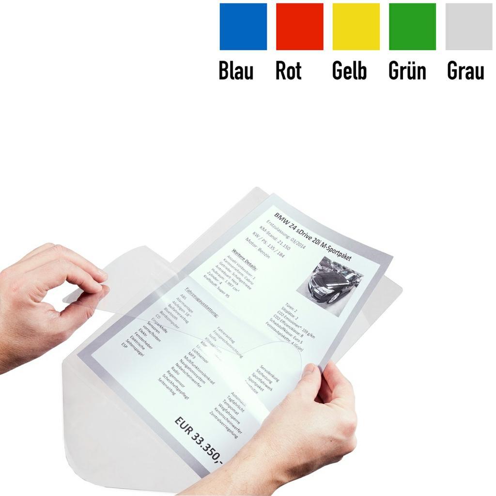Papier-Passepartout für DIN A4 Preisblatthalter