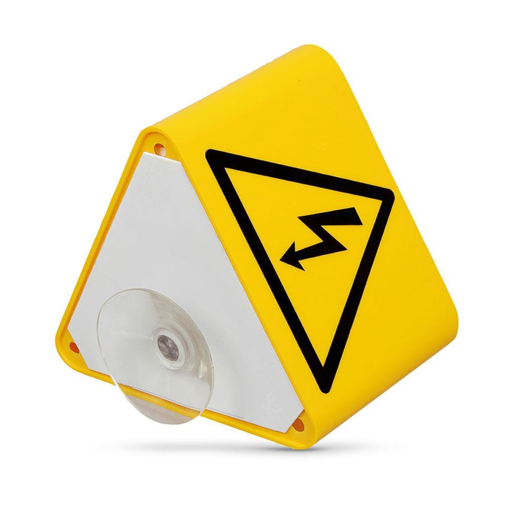 """Dachaufsteller - Symbol """"Blitz"""" - mit Saugnapf"""