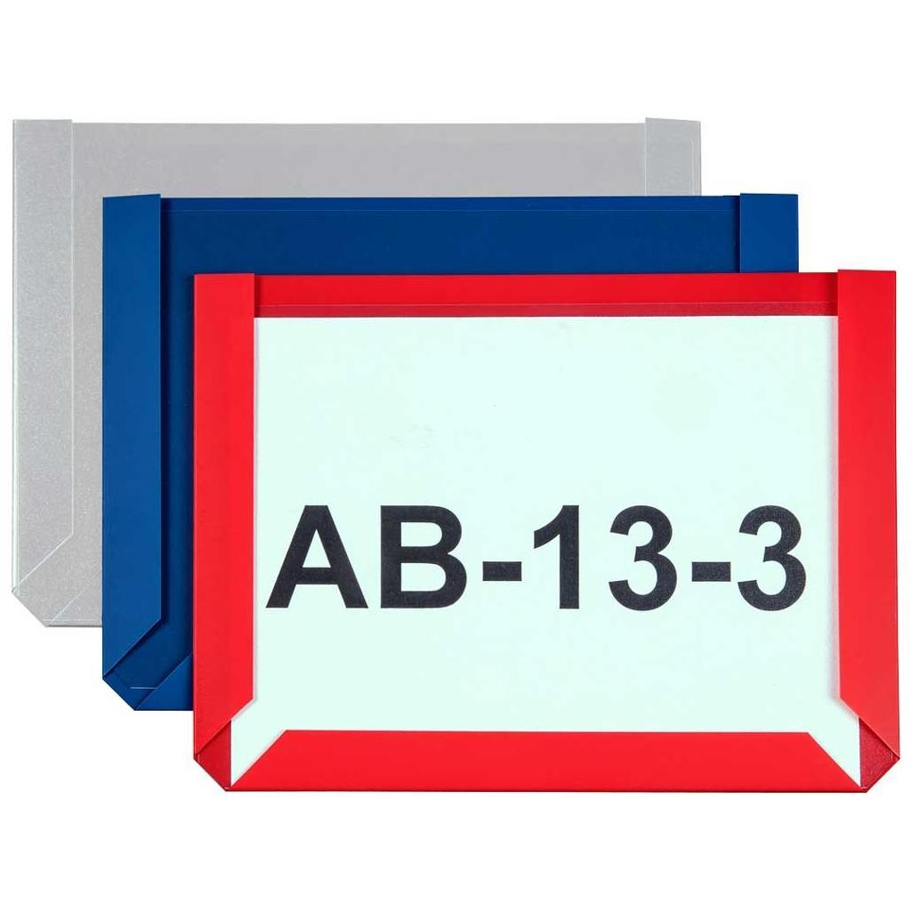 Magnet Sichttaschen im DIN A6 Hoch- und Querformat