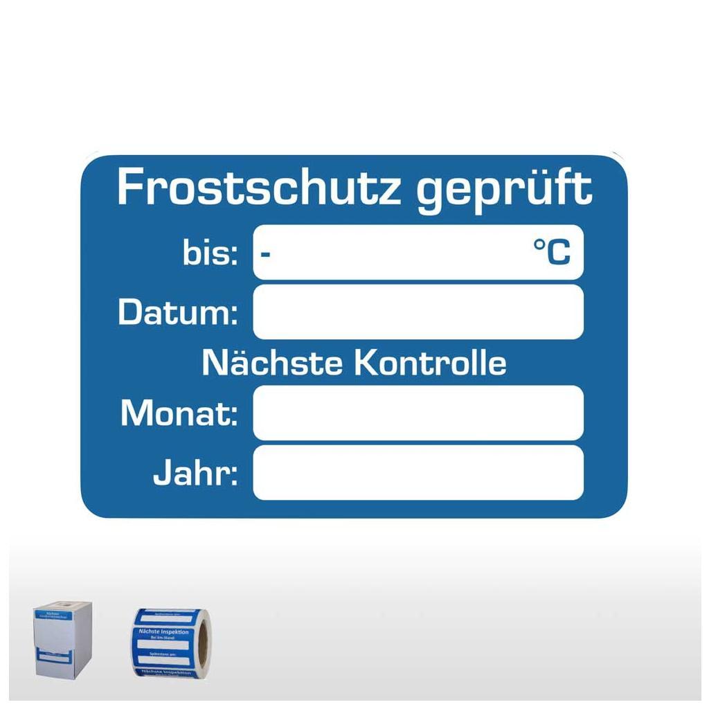Kundendienst-Aufkleber für Kraftfahrzeuge mit unterschiedlichen Hinweistexten