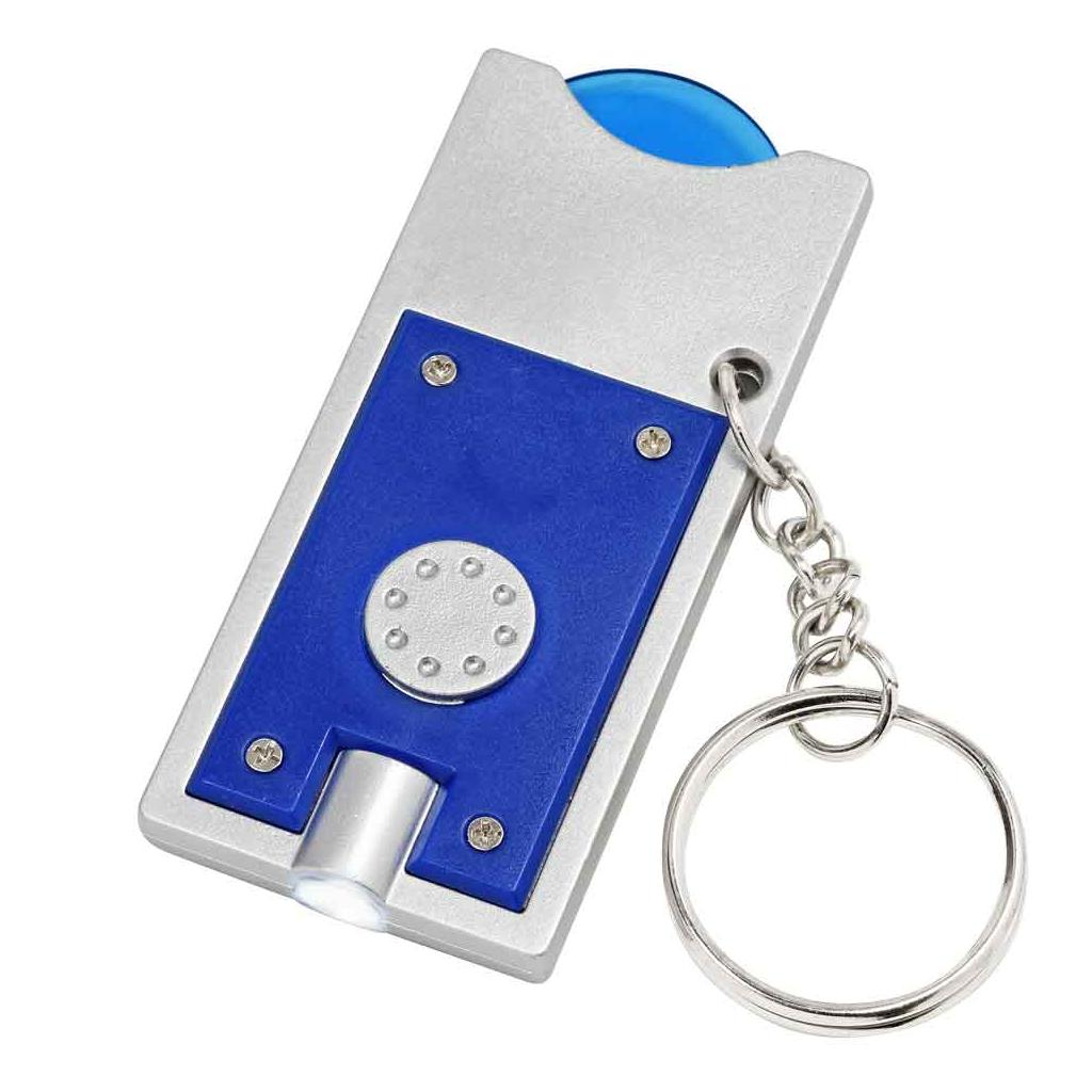 """Schlüsselanhänger """"TRIPLE"""" mit EK-Chip Stirnseite"""