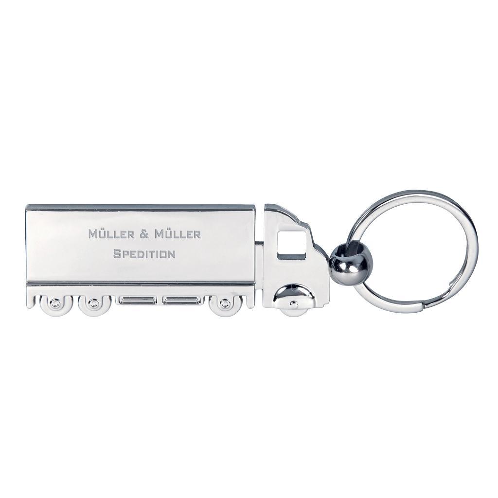 "Schlüsselanhänger ""TRUCK"" aus Messing"
