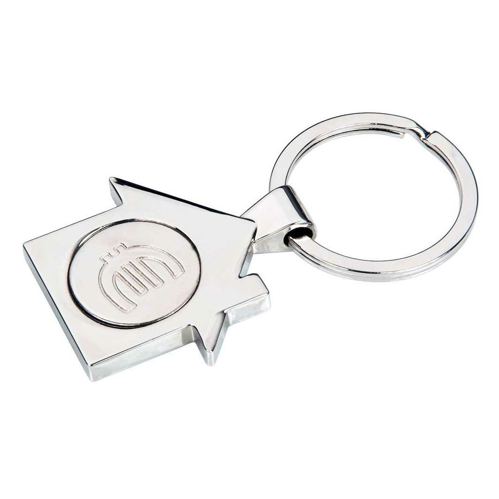 "Schlüsselanhänger ""HAUS"" - Metall - EK-Chip"