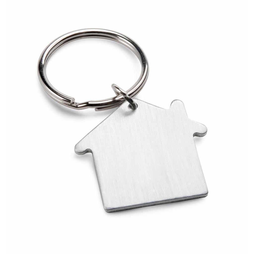 """Schlüsselanhänger """"HOUSE""""  aus Metall in Geschenkbox"""