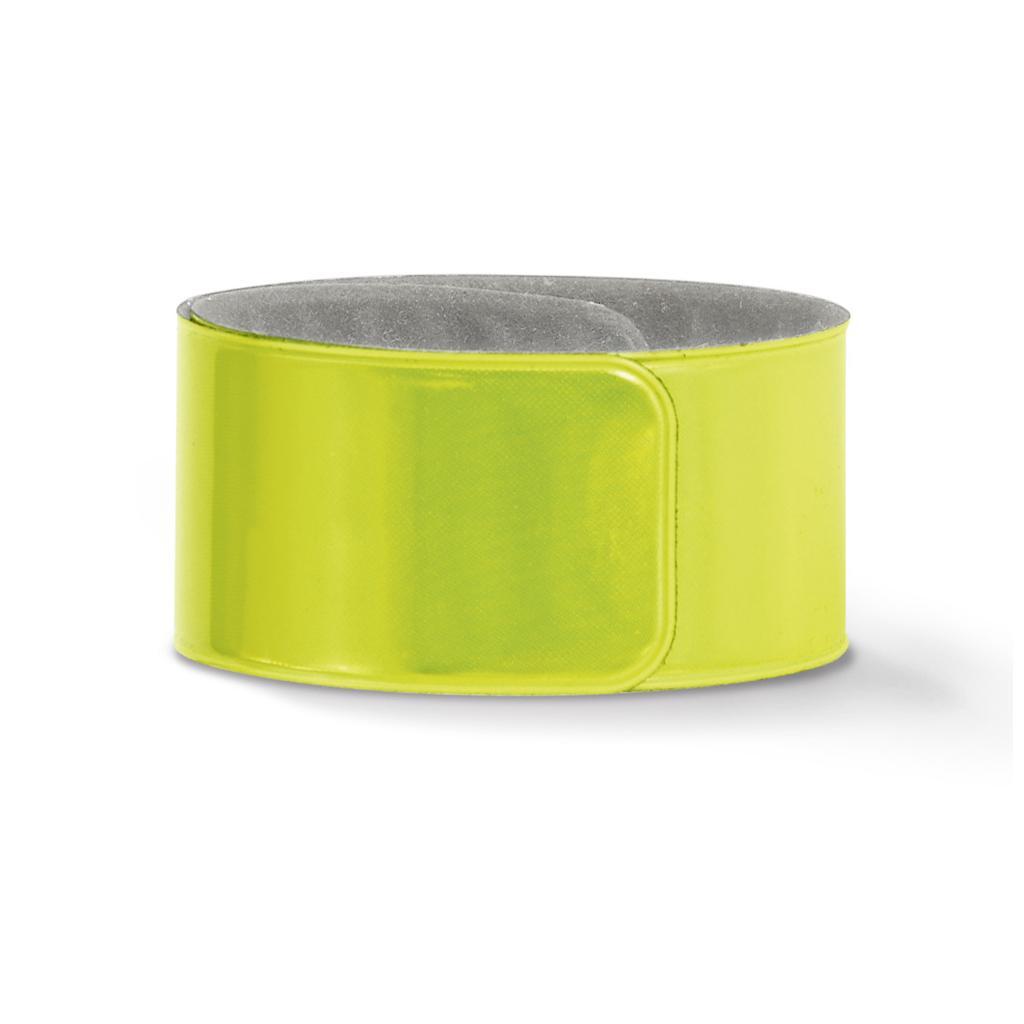 """Reflex-Schnapparmband """"SCHNAPPY"""" - in Neonfarben"""