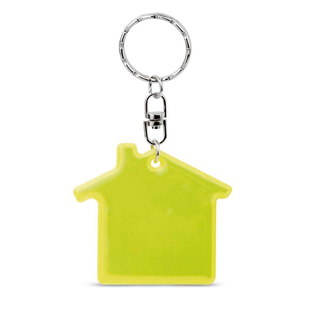 "Reflex-Schlüsselanhänger ""Residence"" - Hausform"