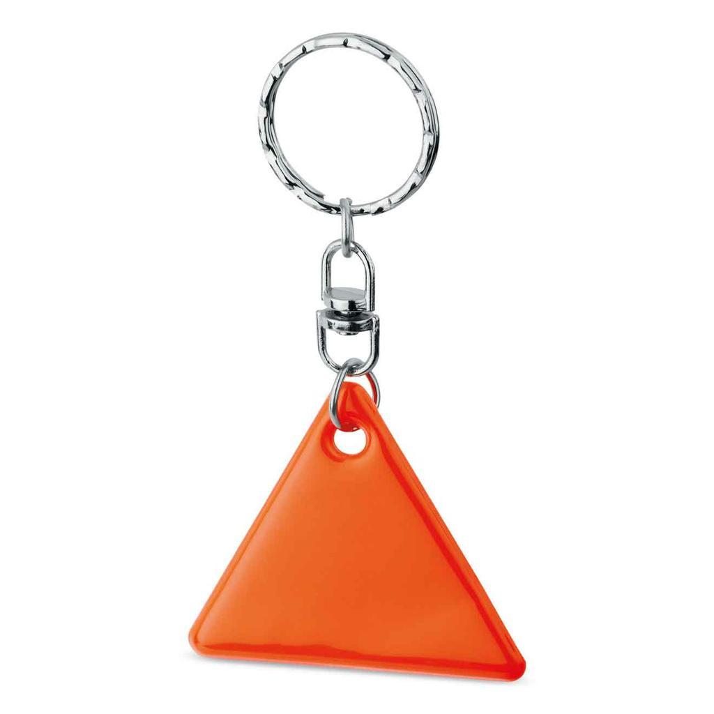 """Reflex-Schlüsselanhänger """"HOWIE"""" - Dreieckform"""