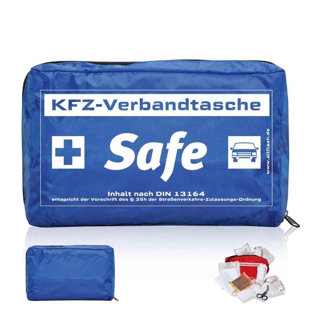 KFZ-Verbandtasche - SAFE STANDARD - 3 Farben