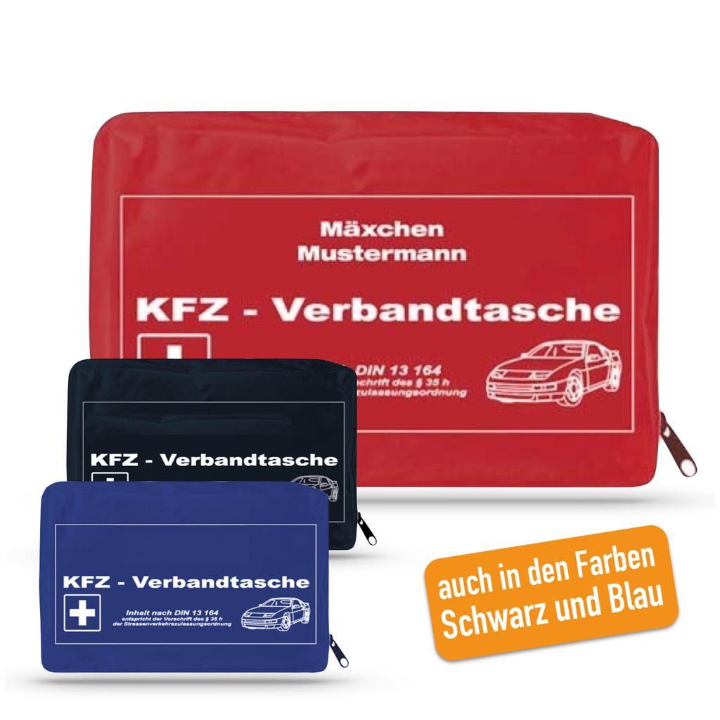 KFZ-Verbandtasche mit Werbeaufdruck