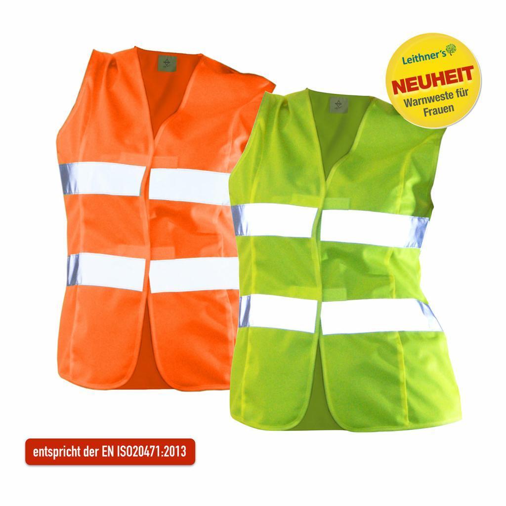 Sicherheits-Warnwesten für Frauen (EN ISO20471:2013)