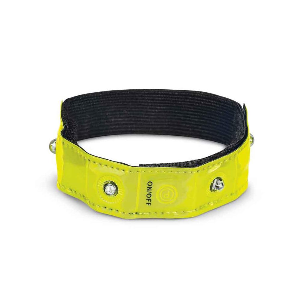 Smartphone-Sicherheits-Armband - 4 LEDs - neutral