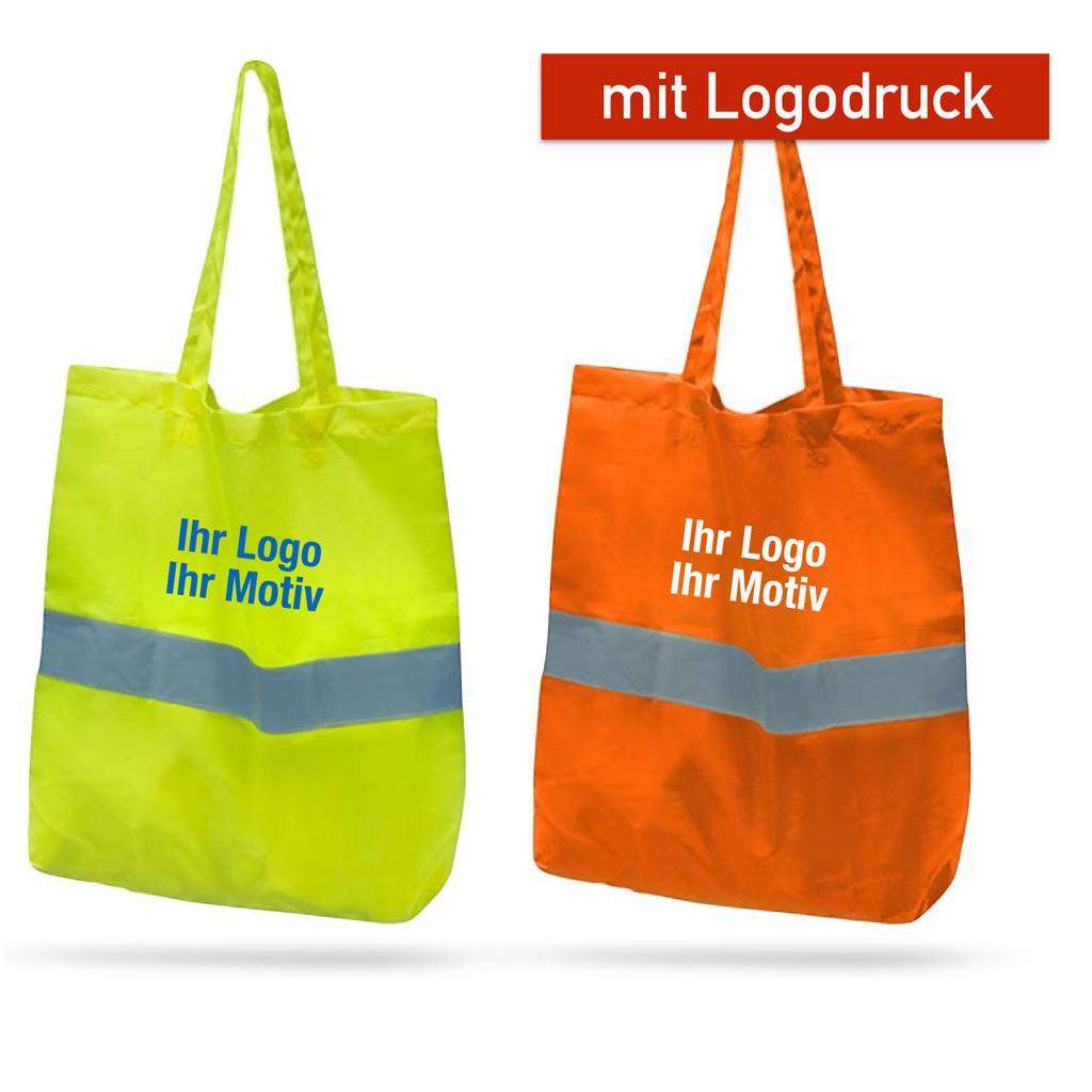 Reflektierende Tasche - lange Henkel - 2 Farben