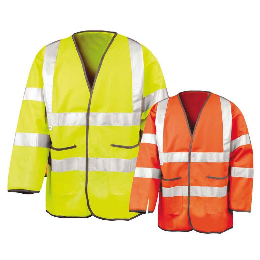 Sicherheitsjacke - Reflektierend - Overlock-Nähte