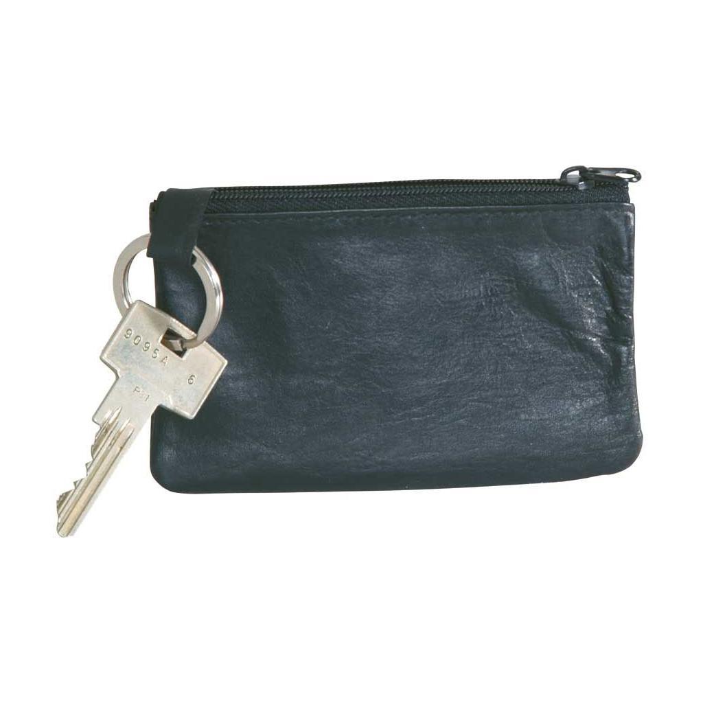 """Schlüsseltasche """"Easy"""" schwarz aus Leder"""