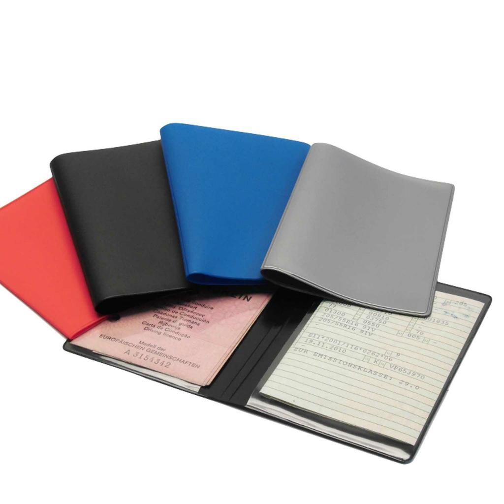 Ausweistaschen aus farbiger Kunststoff-Folie