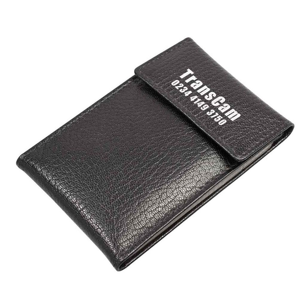 Kreditkartenetui aus echtem Leder