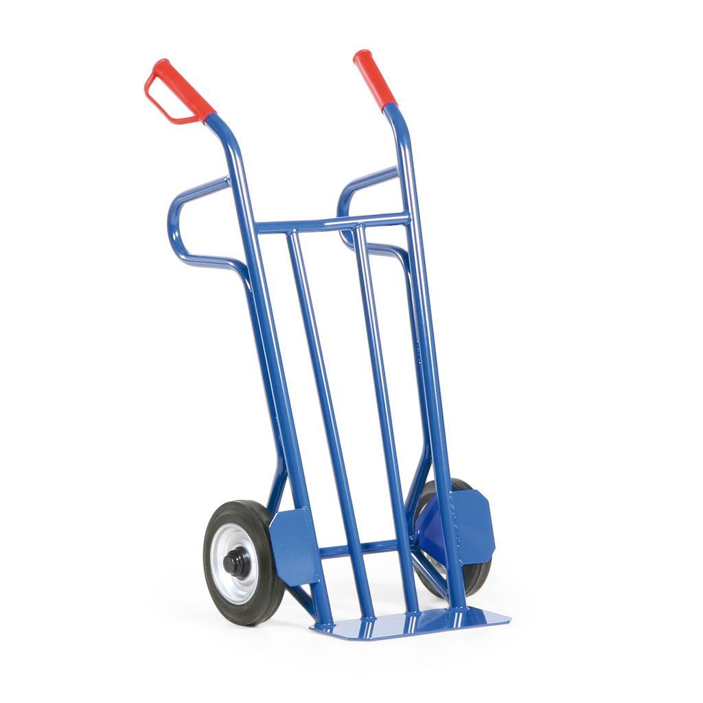 Stahlrohr-Sackkarre Vollgummi - Rollenlager - 500 kg Traglast