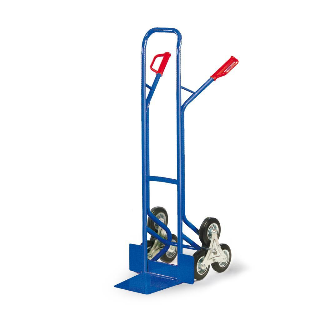 Treppenkarre - Dreistern-Treppenrad - 200 kg Traglast - Vollgummi-Bereifung