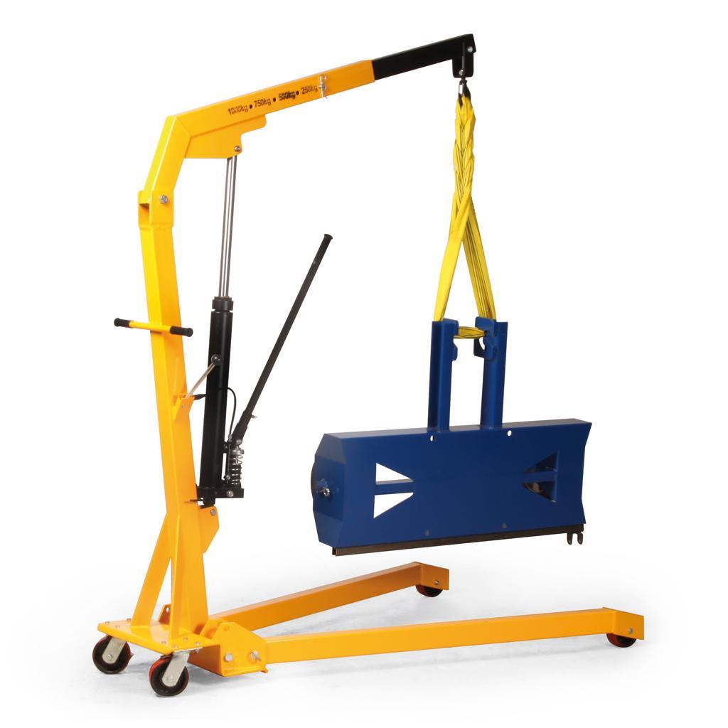 Werkstattkran - gespreizte und klappbare Ausführung - Traglast 250 bis 1000 kg
