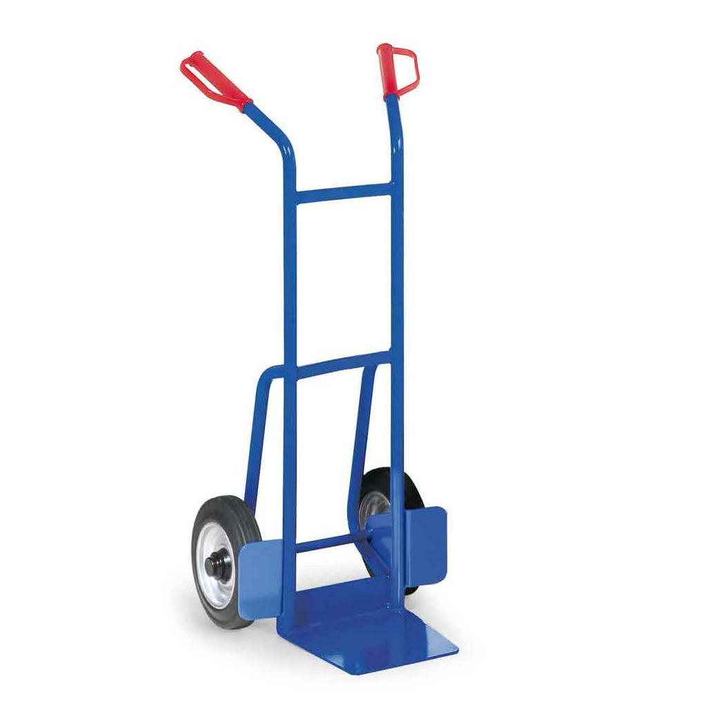 Stahlrohr-Stapelkarre - Vollgummibereifung - 200 kg Traglast