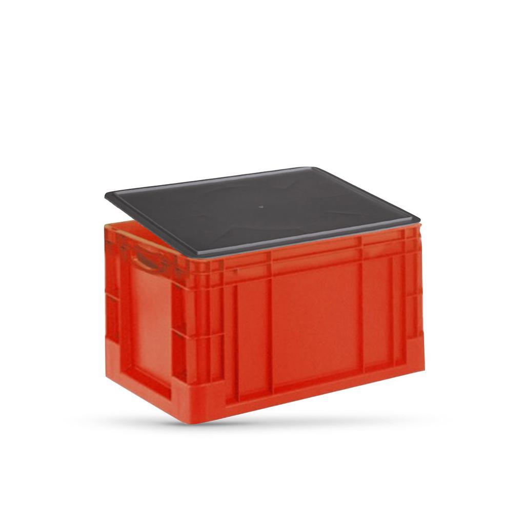 Verschlussdeckel für Euro-Transportbehälter - 600 x 400 mm