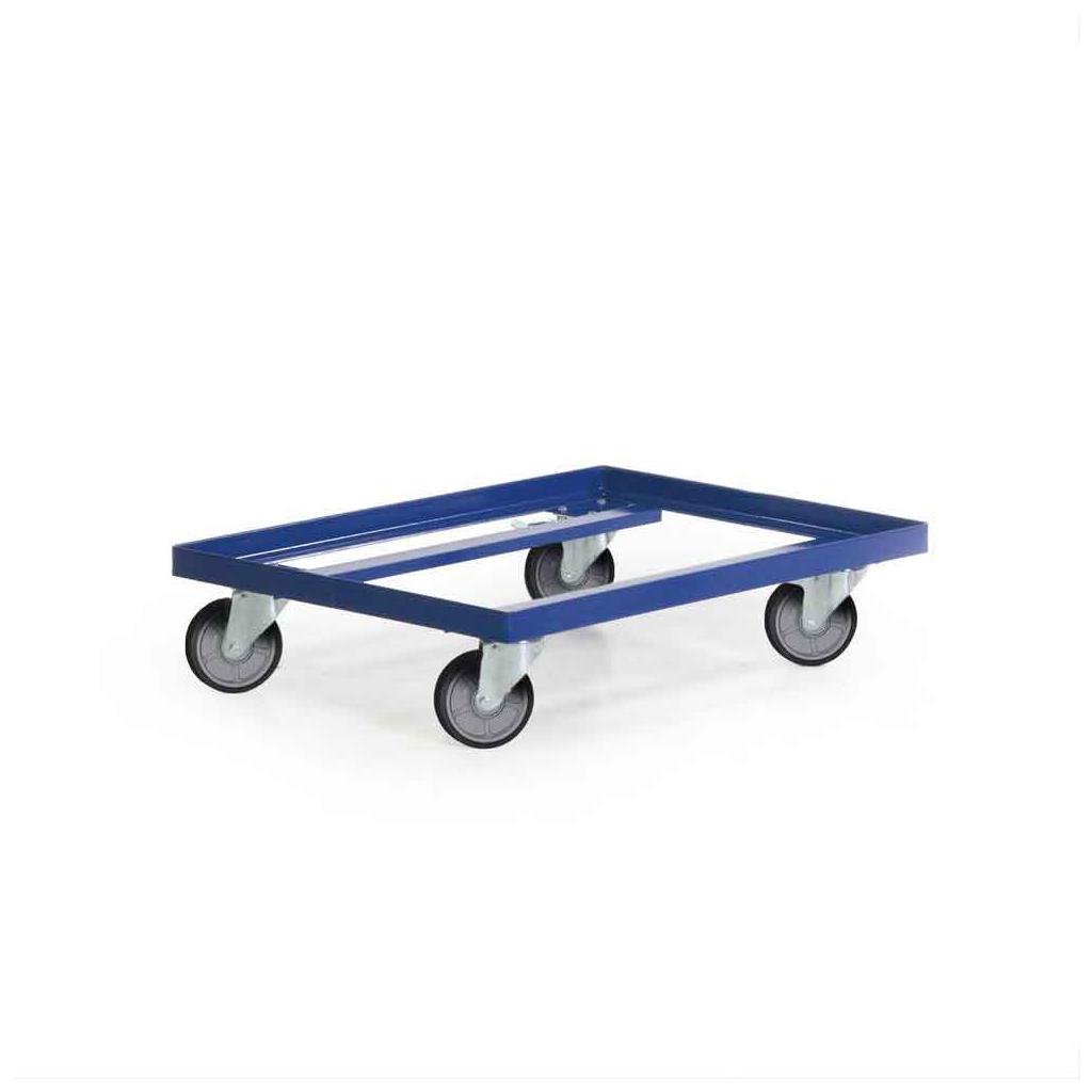 Fahrrahmen für zwei Transportstapelkästen - Größe 600 × 400 mm