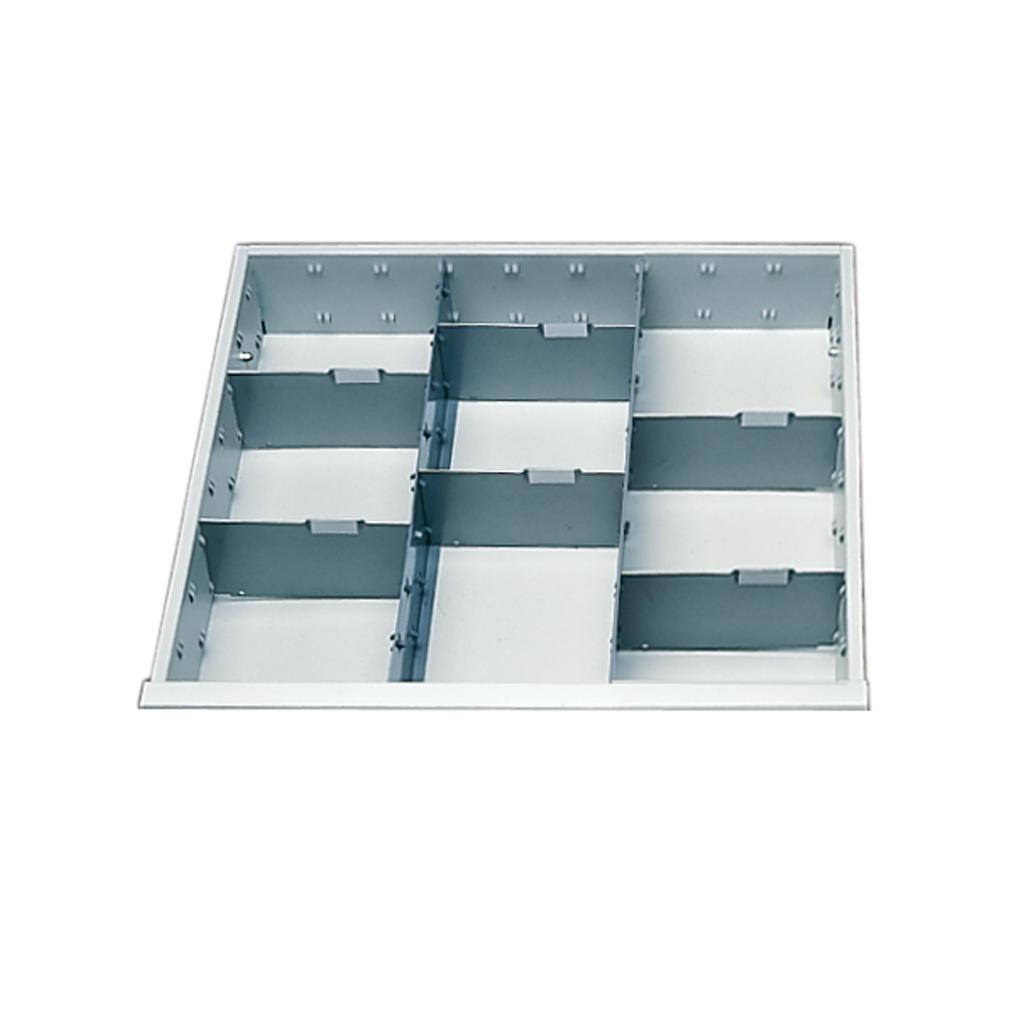 Einteilungs-Set für Schubladen - Fahrbare Werkbankwagen