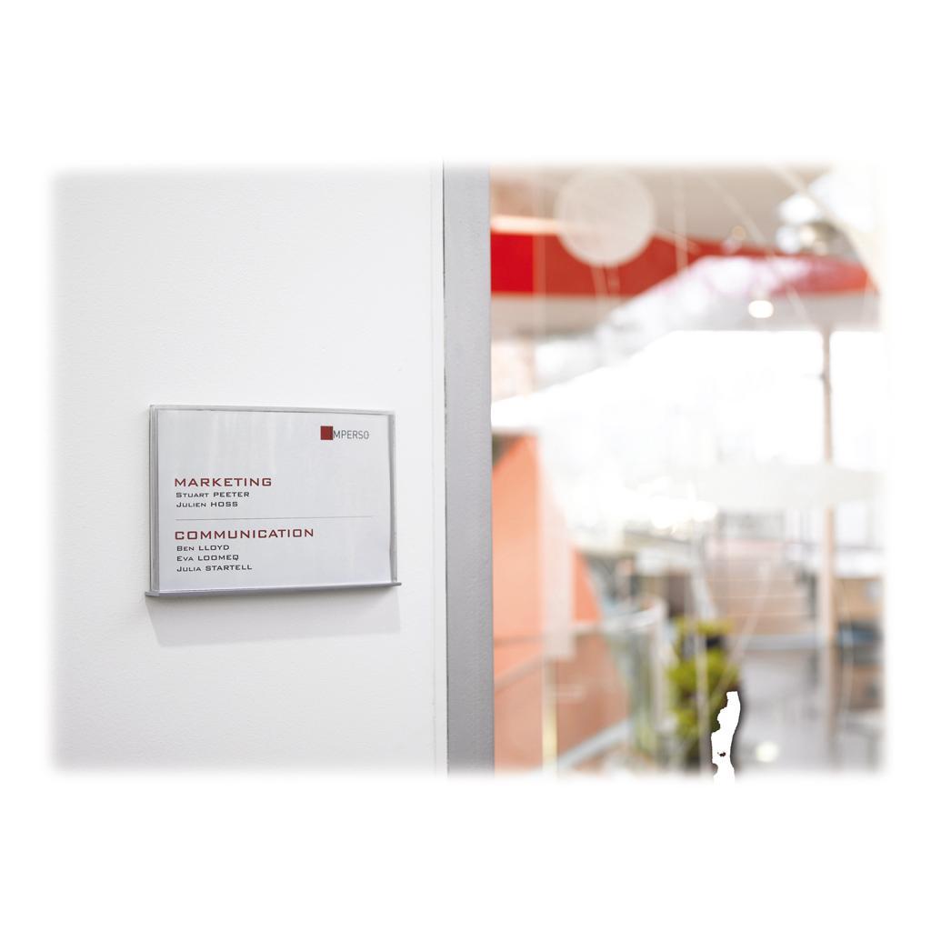 Beschriftungssysteme - Schild DIN A4