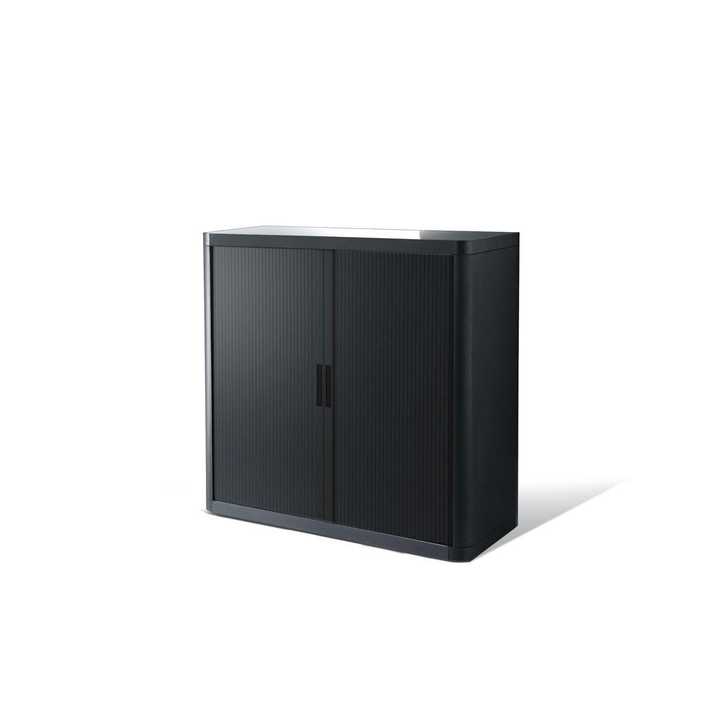Rollladenschrank - Kunststoff - H 1000 mm - Schwarz