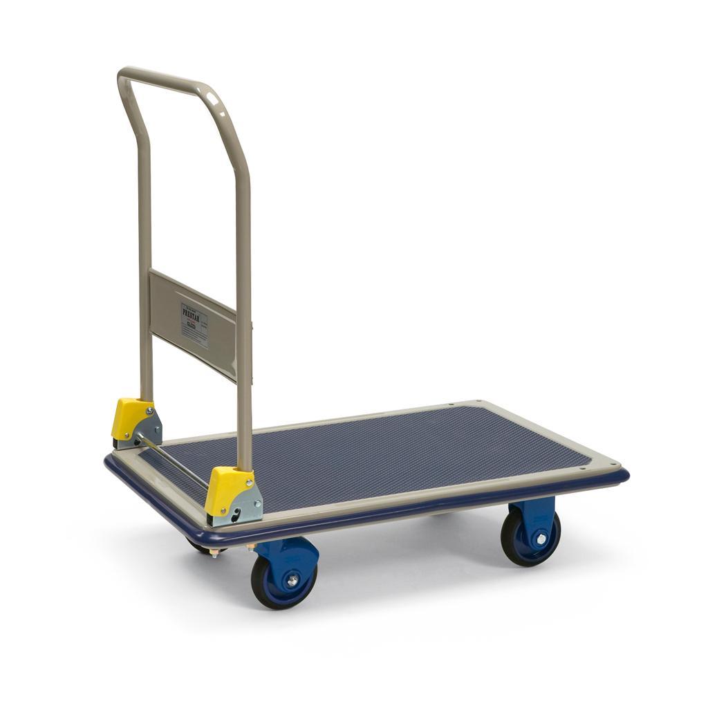 Plattformwagen mit Schiebebügel - Traglast bis 150 kg
