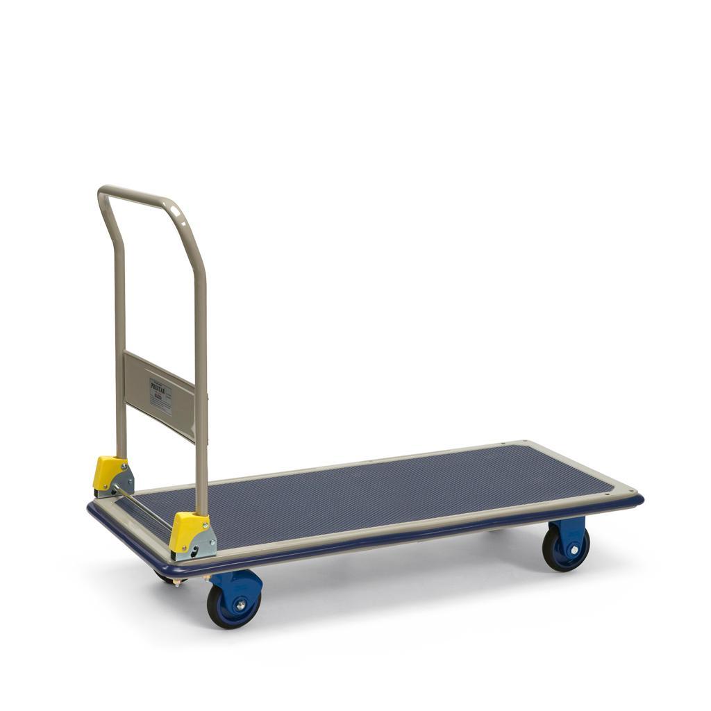 Plattformwagen mit Schiebebügel - Langform - Traglast bis 300 kg