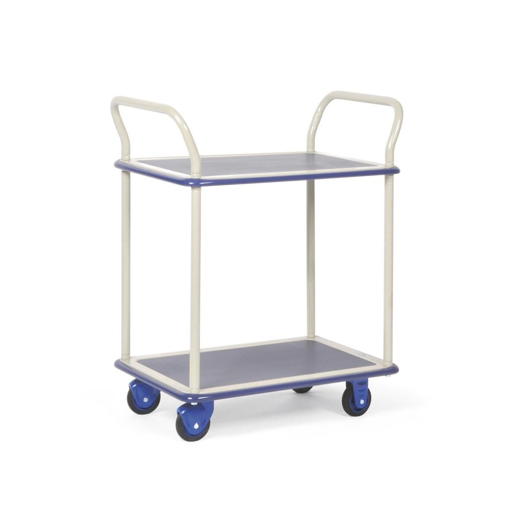 Transportwagen mit 2 Ladeflächen - Traglast bis 150 kg