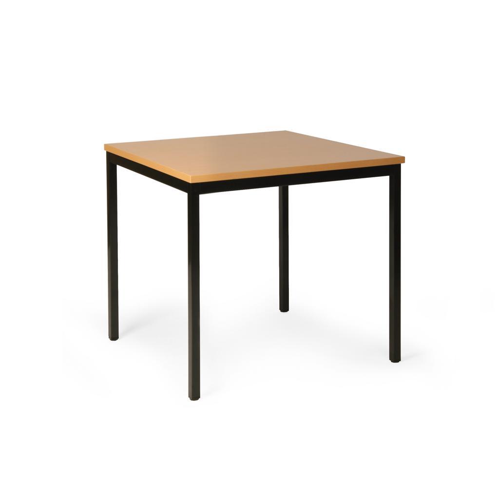 Allzweck-Tisch ECO - 800 x 800 mm - Buchendekor