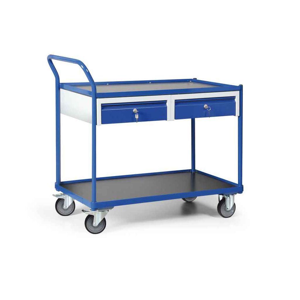 Werkstattwagen mit Schiebebügel - Tragkraft 300 kg