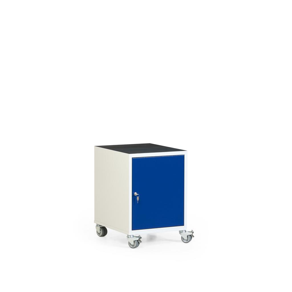 Werkstatt-Rollcontainer - Riffelgummimatte oder Multiplexplatte