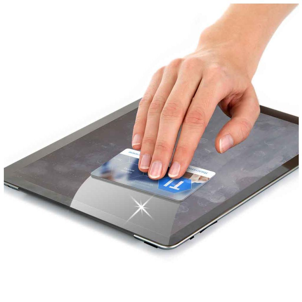 """Display-Reiniger """"VisiCleaner®"""" im Kreditkartenformat"""