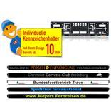 """Kennzeichenhalter Individual """"Mein-Branding"""" Produktbild"""